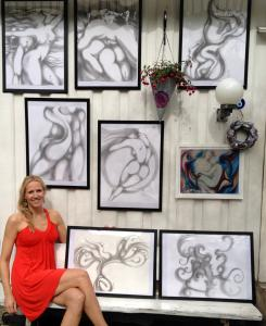 Virginia Artist Marat Exhibiting Erotic Art At Norwegian Festival Of Pleasure.